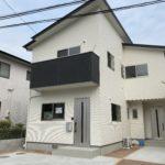東広島市西条町吉行 新築完成しました! 名称:Oasis「オアシス」Ⅰ戸建て 即入居可能 テラスハウス2世帯 賃料:7.5万円(駐車1台込み)